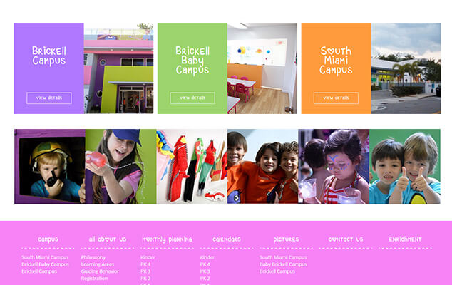 Children-Preschool-Webdesign