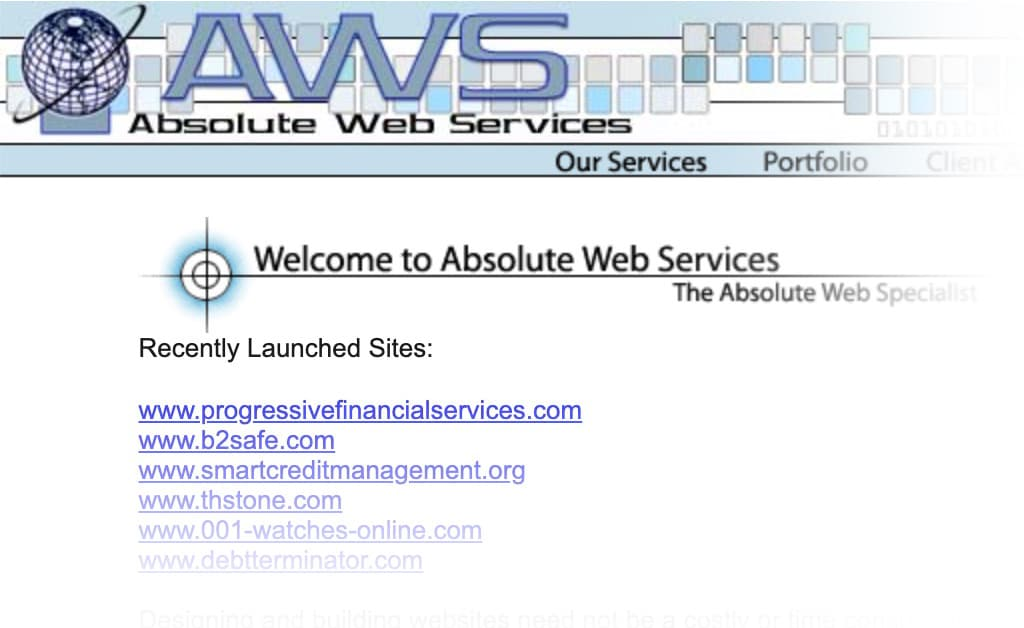 1st-absolute-web-services-website