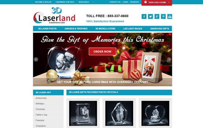 3d Laser Land Absolute Web Services
