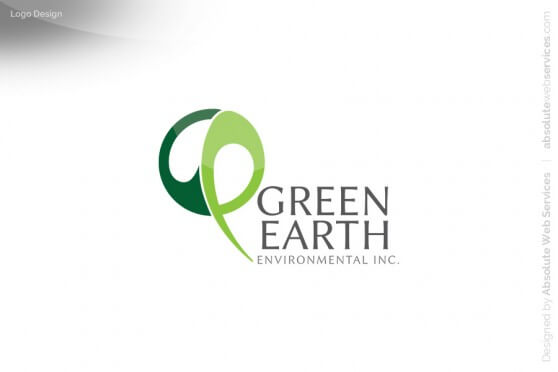 Absolute-Web-Services-Green-Earth-Environmental-Logo-Design-FINAL