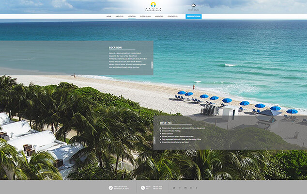 Akoya-Custom-Website-Miami