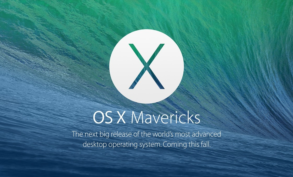 Apple Keynote OS X Mavericks