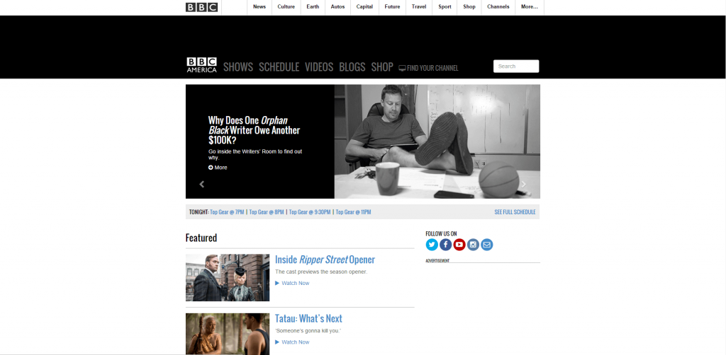 BBC_America WordPress