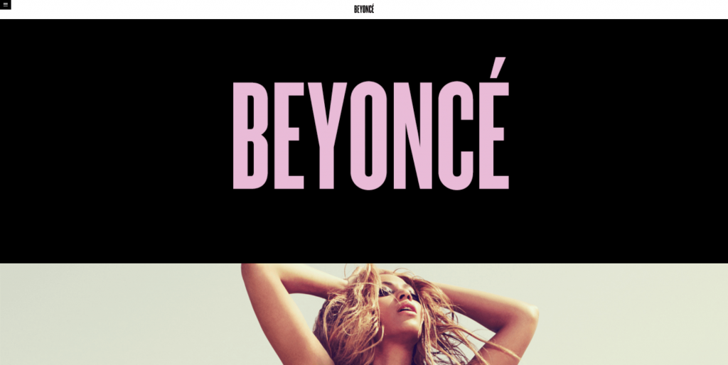 WordPress as a CMS for Beyonce Website