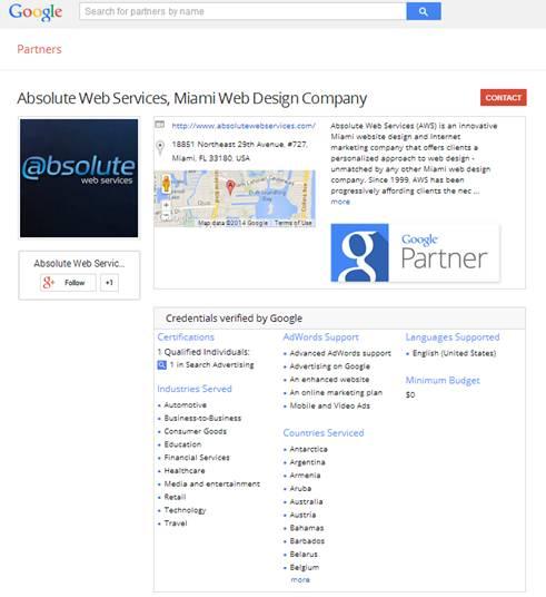 Google Partners AWS