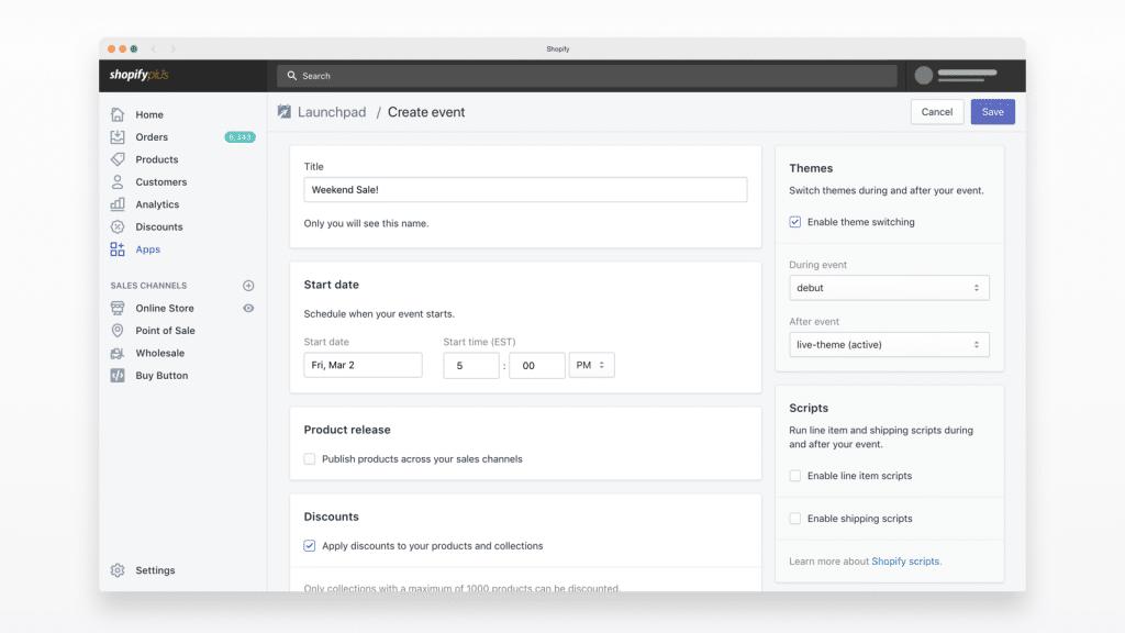 Launchpad-ShopifyPlus