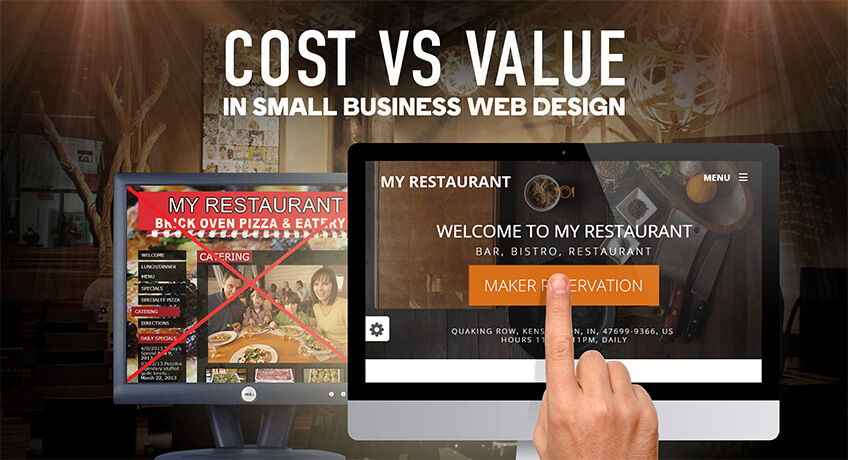 Cost vs Value in Small Business Web Design - Absolute Web