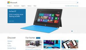 Microsoft Responsive Design