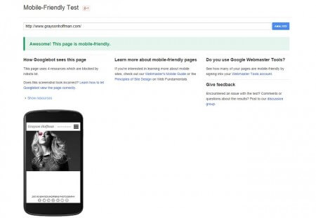 Mobile Friendly SEO Google Algorithm