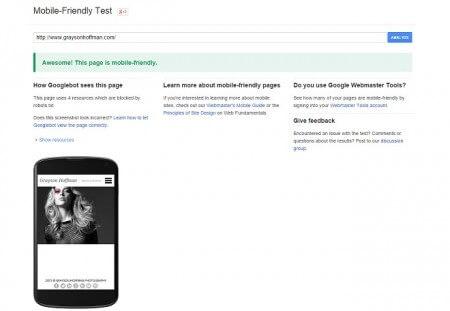 Mobile Friendly SEO Google Algorithm