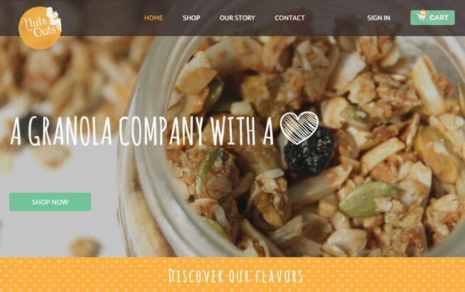 organic-food-website-design