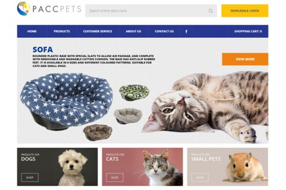 pet-website-design