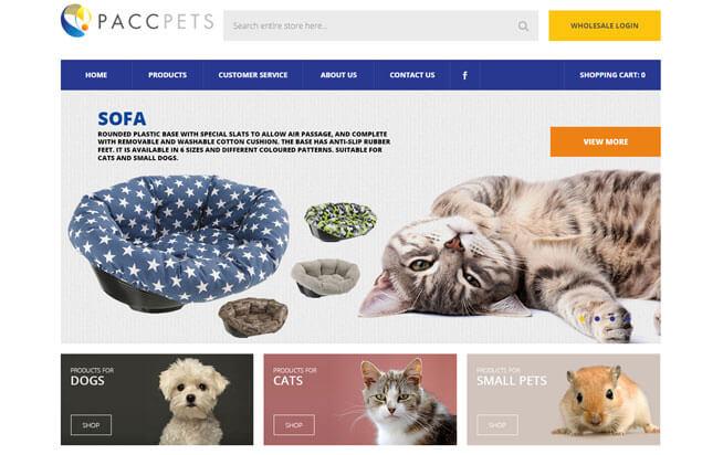pet-website-design