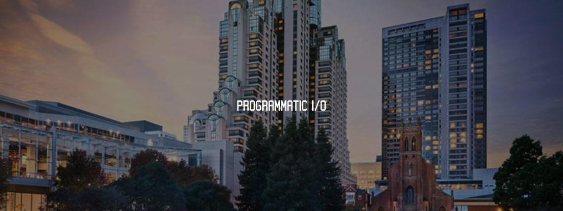 Programatic IO
