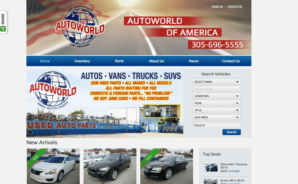 Auto World of America