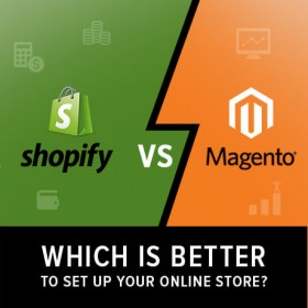 Shopify vs Magento for online store