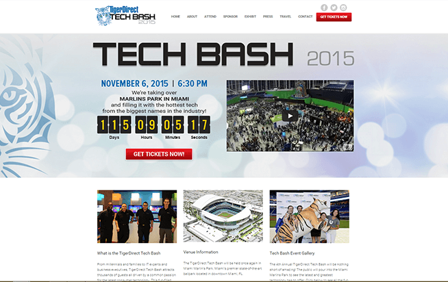 Tiger-Direct-Bash-Miami-Web-Design