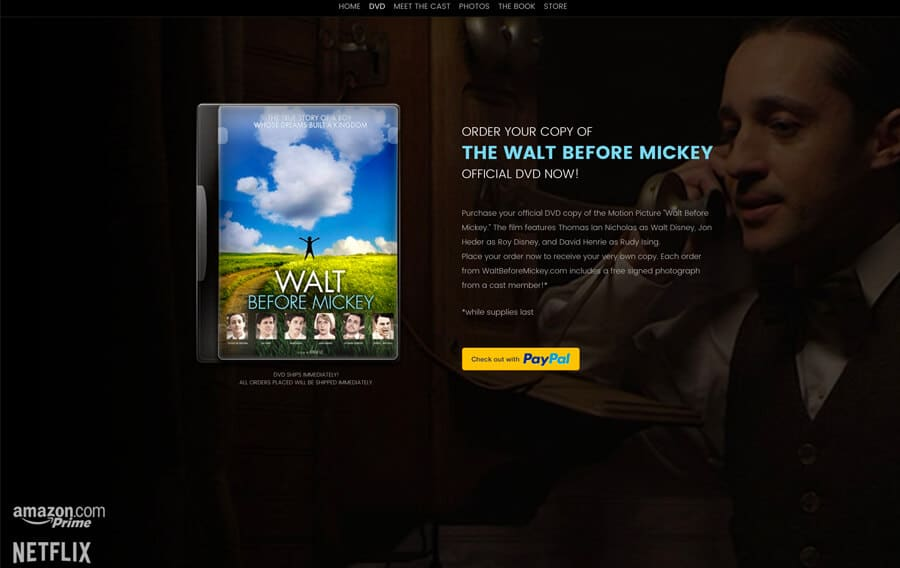 Walt Before Mickey - Absolute Web Services