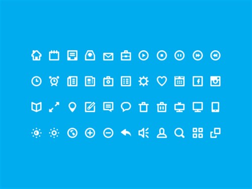 Web Design 44 Icons