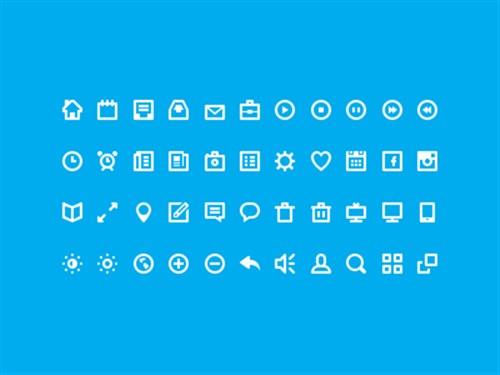 Web Design 44 Icons