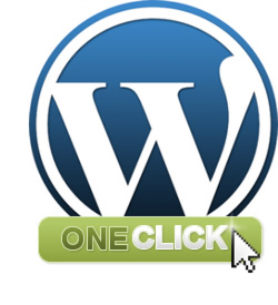 Wordpress one click