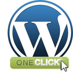 Wordpress one click