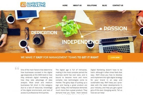 aemarketing homepage