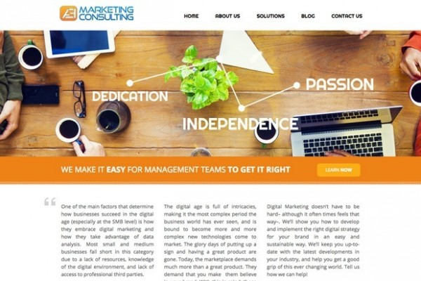 aemarketing homepage