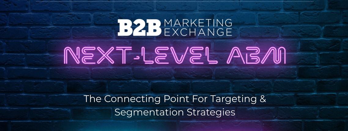 B2B Marketing Exchange Conferece