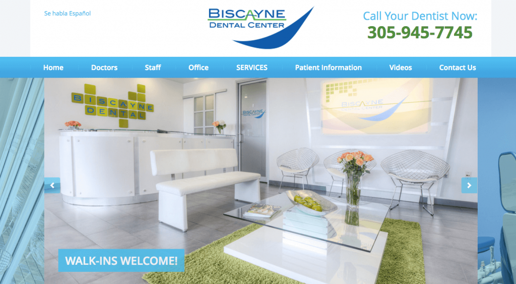 Biscayne Dental Center: Multi-Specialty Cosmetic Dentistry Practice