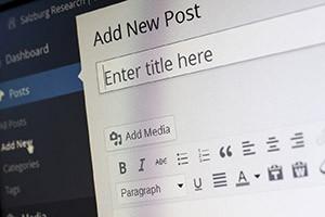 Make a blog