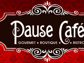 Boutique Restaurant Website Design for Boutique Dining at Pause Cafe