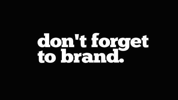 branding a website