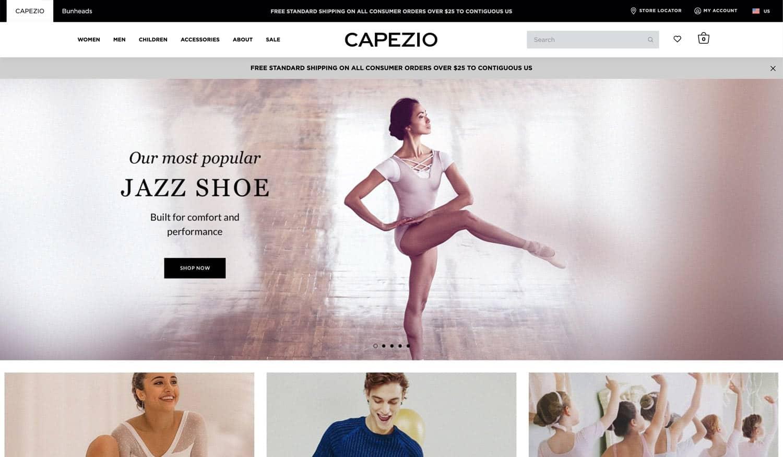 capezio-new-website-new-branding-absoluteweb
