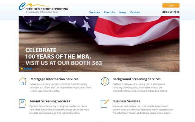 Certified Credit Reporting
