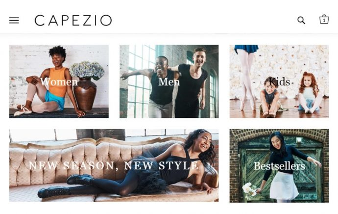 custom-magento-development-and-design-capezio-com-1