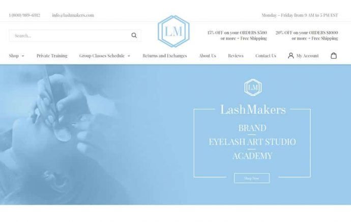 custom-woocommerce-design-and-development-miami-lashmakers-1