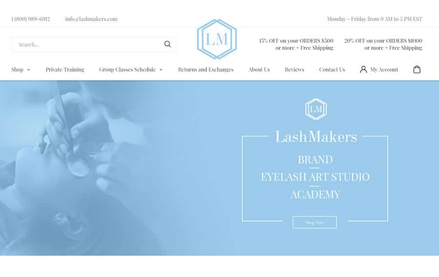 Lash Makers - Absolute Web Services