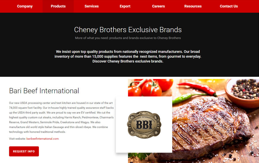 custom-wordpress-development-cheney-brothers-8