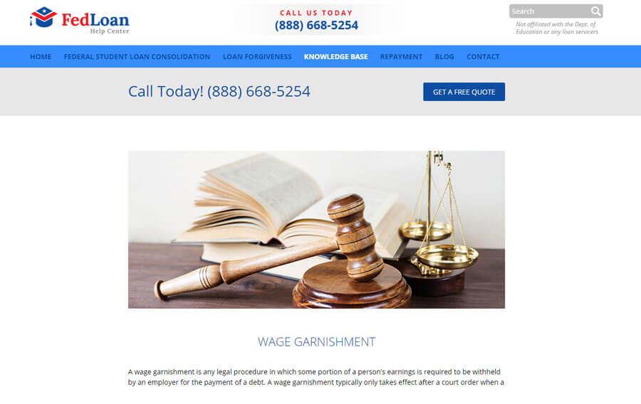 custom-wordpress-development-miami-fedloan-help-center-4