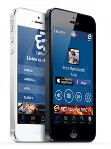 eben music mobile app