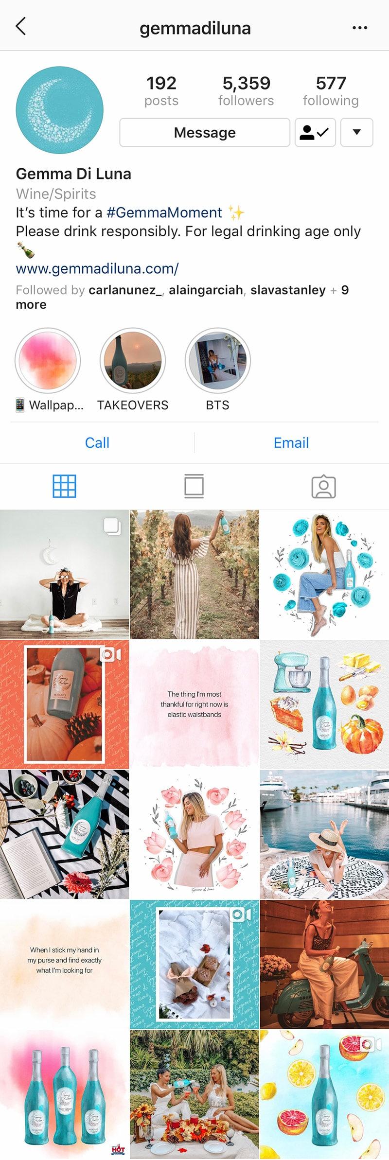 example-of-instagram-account