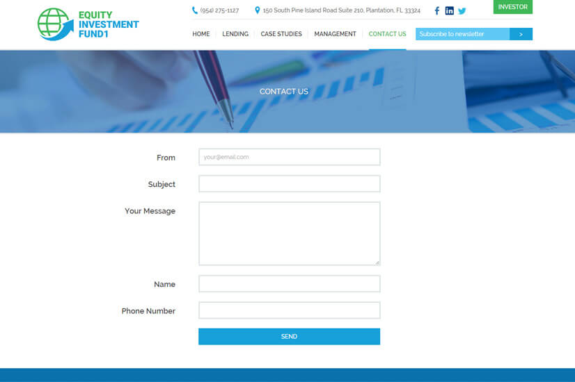 Equity-Investment-fund-design