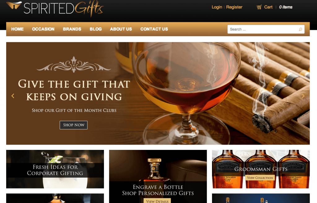 Functionality Meets Beauty: Complete Custom Website Redesign of SpiritedGifts