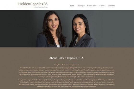 HoldenCapriles, P. A.