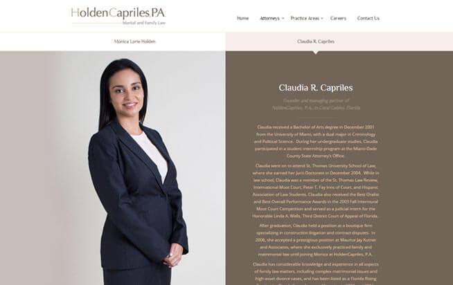 HoldenCapriles, P. A