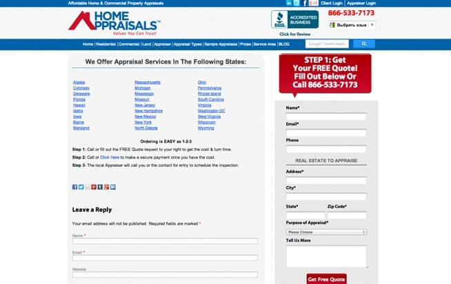 Home Appraisals, Inc