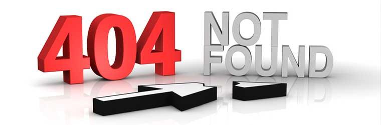 How to Avoid the Dreaded 404 Error