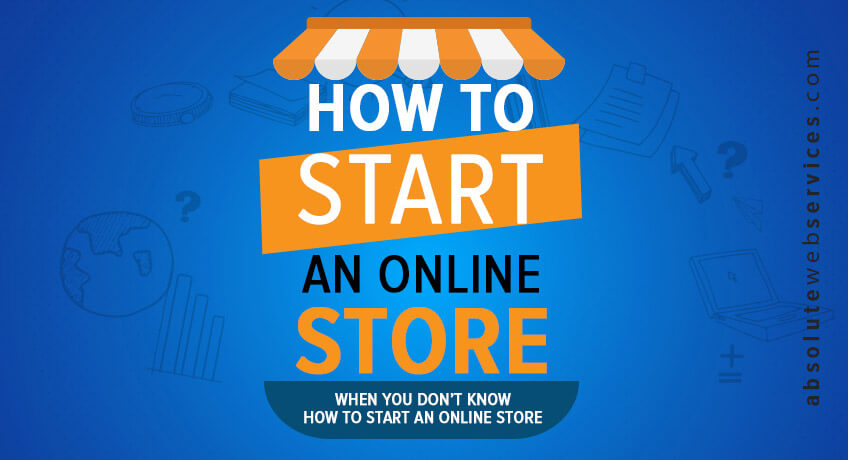 How to start an internet clothing store