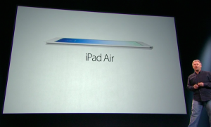 iPad Air Apple Keynote